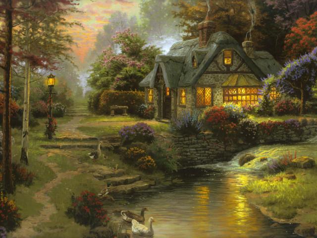House 壁紙画像