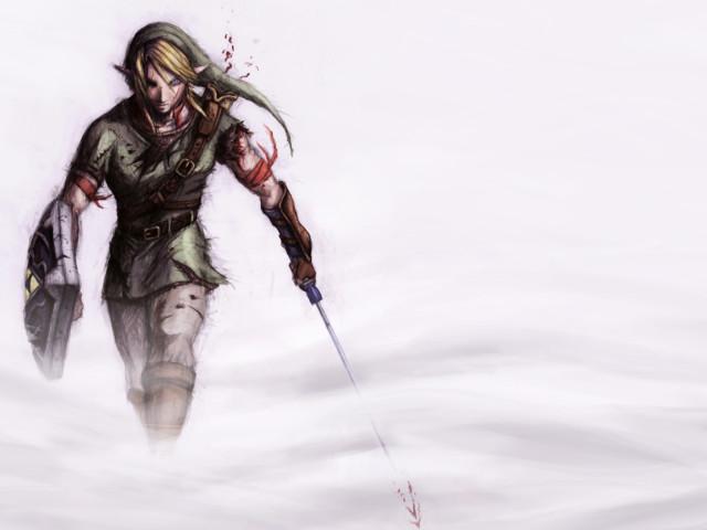Link From Zelda 壁紙画像