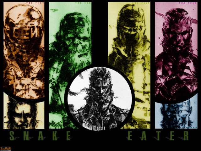 Metal Gear 壁紙画像