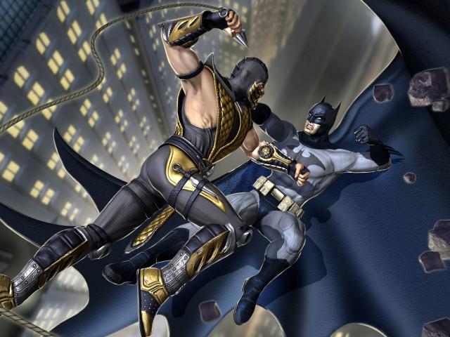 Mortal Kombat Vs. Dc Universe 壁紙画像