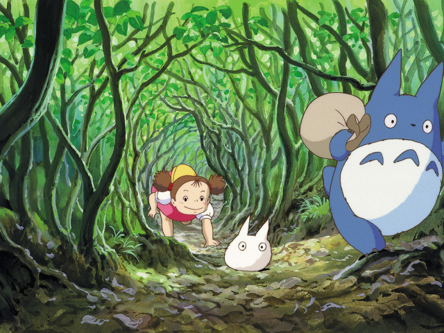 My Neighbor Totoro 壁紙画像