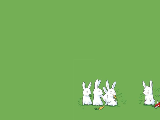 Nonconformist Rabbit 壁紙画像