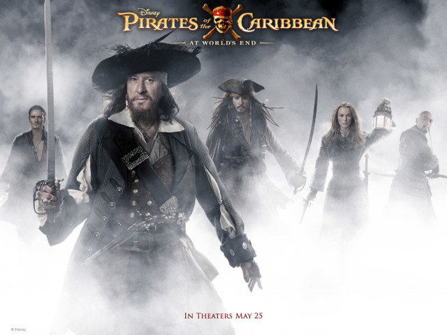 Pirates Of The Caribbean 壁紙画像