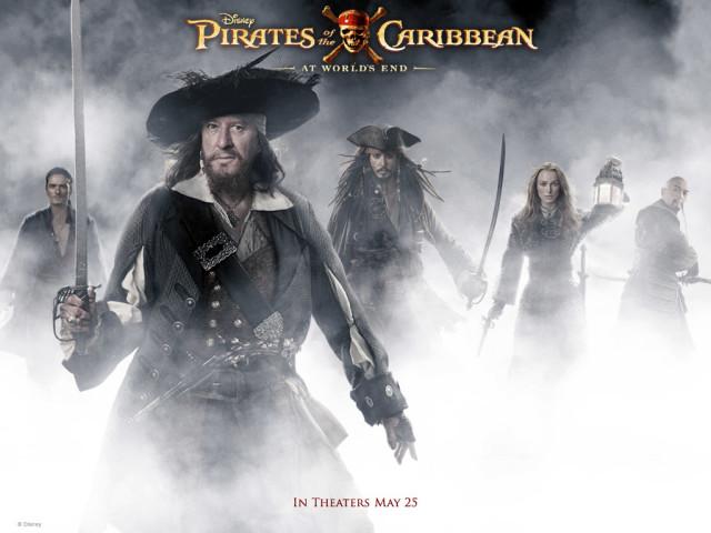 Pirates Of The Caribbean 壁紙画像