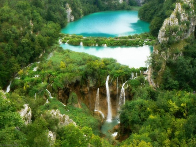 Plitvice Waterfall 壁紙画像