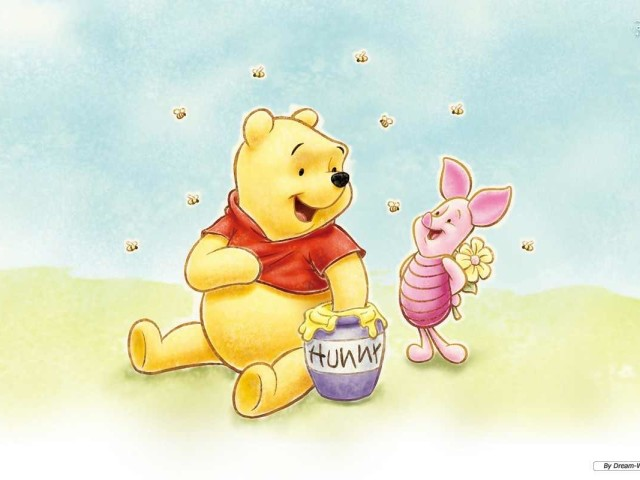 Pooh And Piglet 壁紙画像