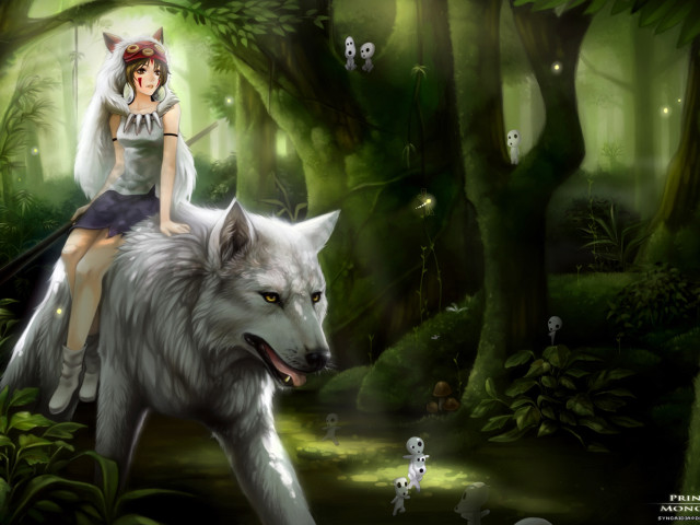 Princess Mononoke 壁紙画像