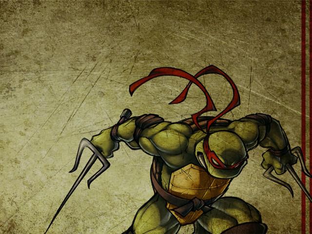 Raphael Tmnt 壁紙画像