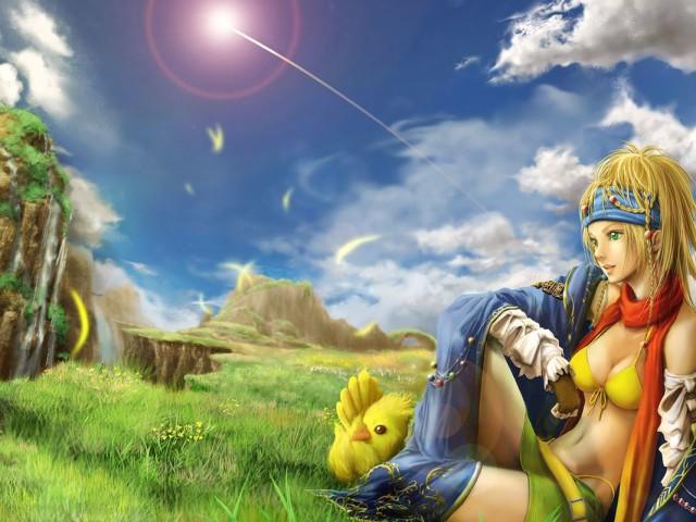 Resting Riku 壁紙画像