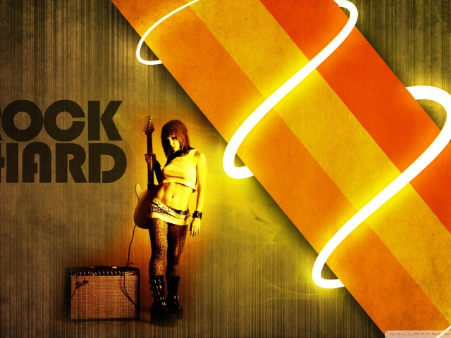 Rock Hard 壁紙画像