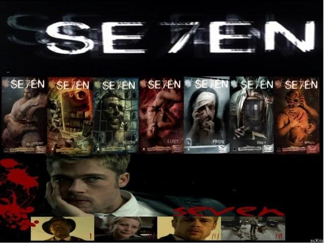 Se7en 壁紙画像