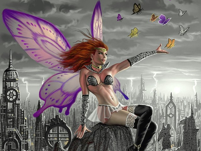 Sexy Fairy 壁紙画像