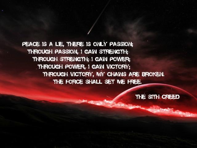 Sith Creed 壁紙画像