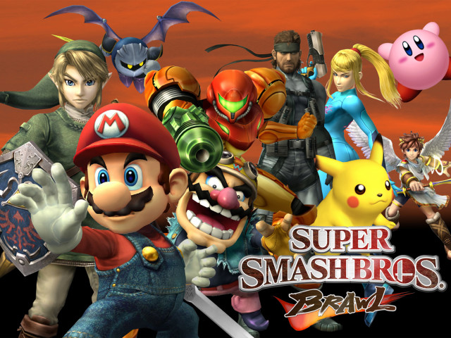 Super Smash Bros 壁紙画像
