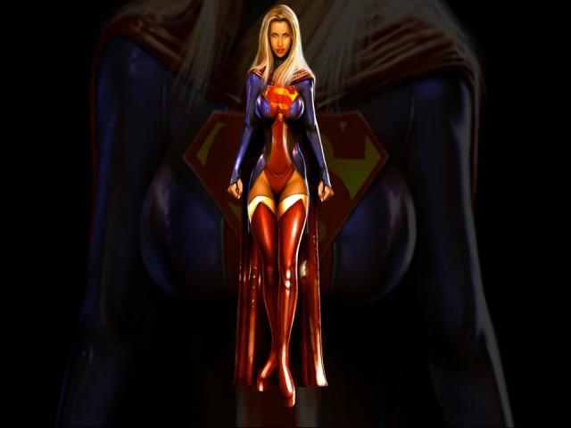 Supergirl 壁紙画像