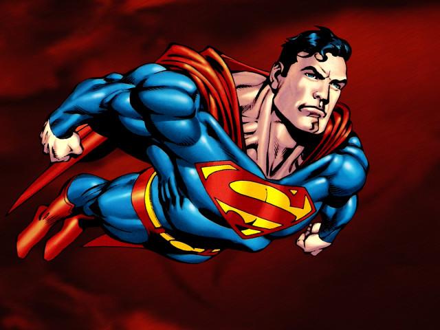 Superman Flying 壁紙画像