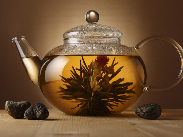 Tea In A Kettle 壁紙画像