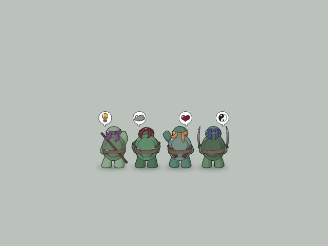 Teenage Mutant Ninja Turtles 壁紙画像
