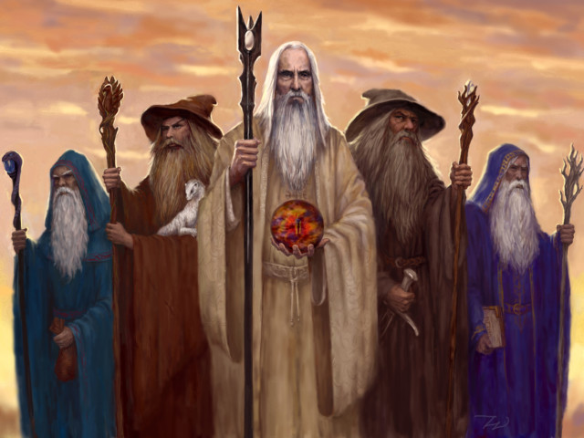 The Five Wizards 壁紙画像