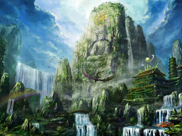 The Great Buddha 壁紙画像