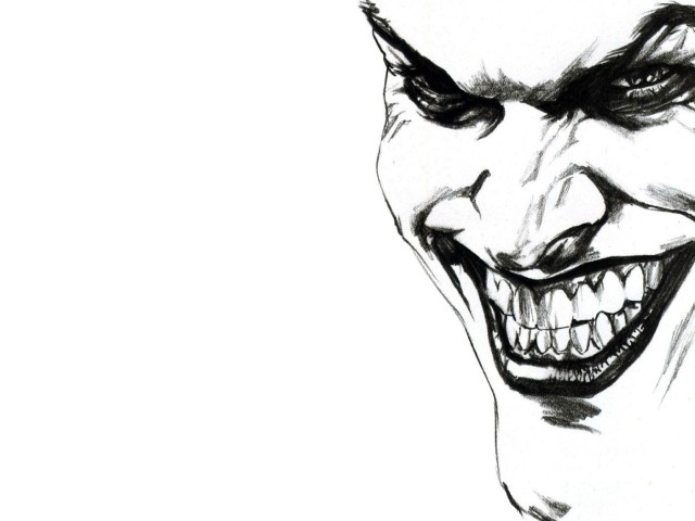 The Joker Smiling 壁紙画像