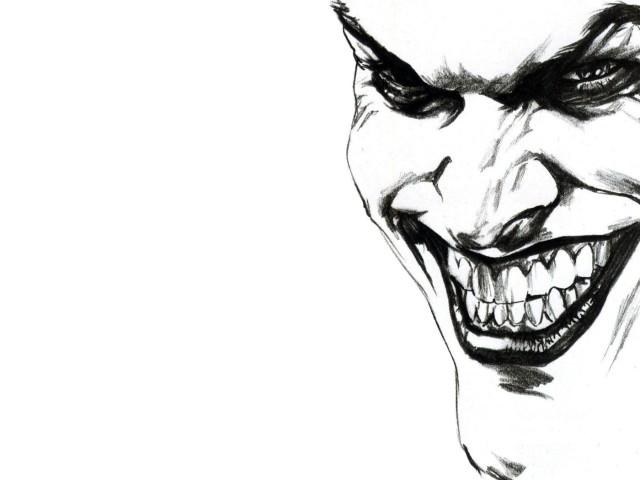 The Joker Smiling 壁紙画像