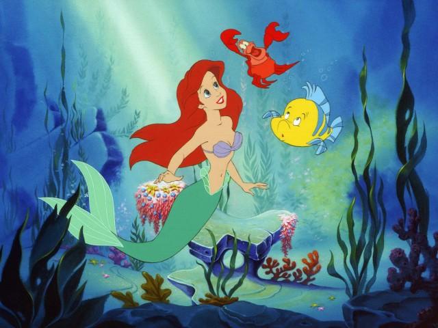 The Little Mermaid 壁紙画像