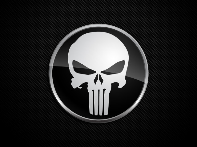 The Punisher Logo 壁紙画像
