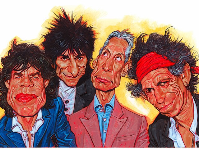 The Rolling Stones 壁紙画像