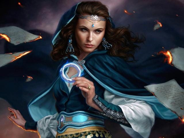The Sorceress 壁紙画像