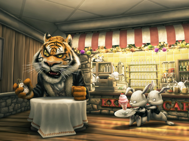 The Tiger And His Order 壁紙画像