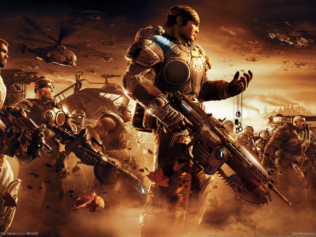 Video Game Gears Of War 壁紙画像