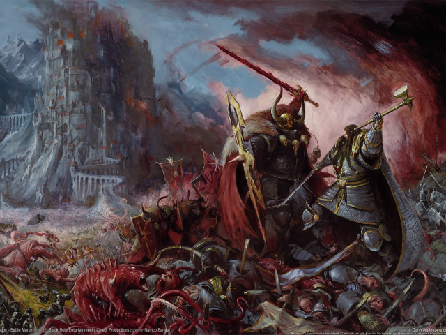Video Game Warhammer 壁紙画像