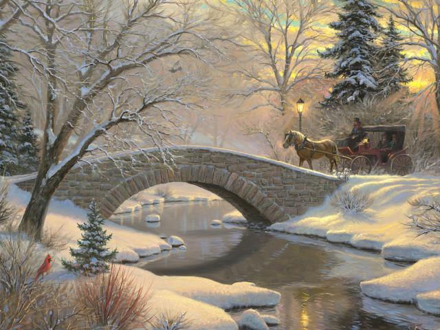 Winter 壁紙画像