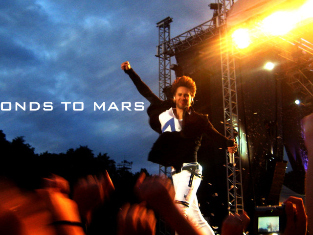 30 Seconds To Mars Jared 壁紙画像