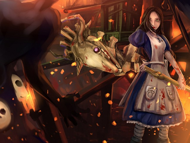 Alice Madness Returns 壁紙画像