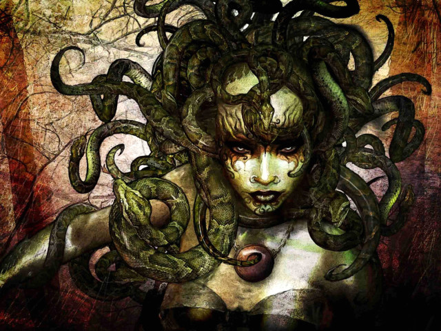 Ancient Medusa 壁紙画像