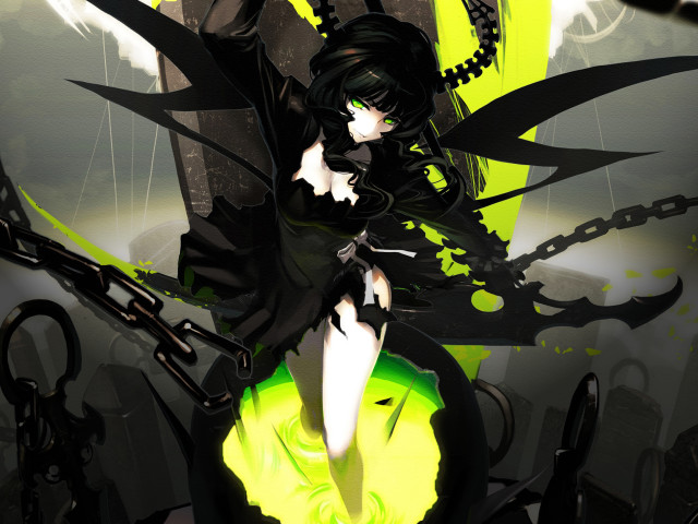 Black Rock Shooter 壁紙画像
