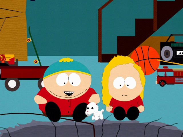 Cartman With A Girl 壁紙画像