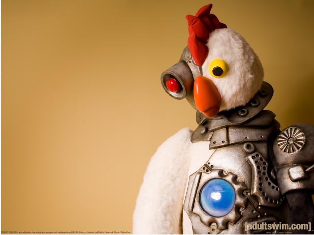Chicken Robot 壁紙画像
