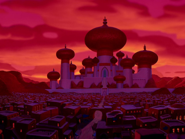 City Of Agrabah 壁紙画像