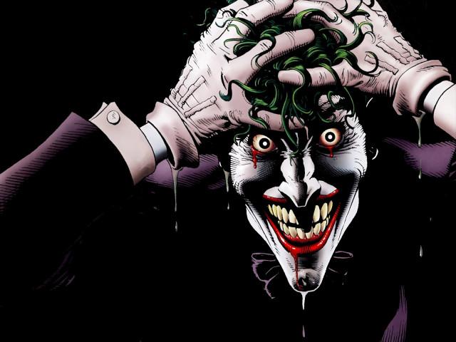 Comic Book Joker 壁紙画像