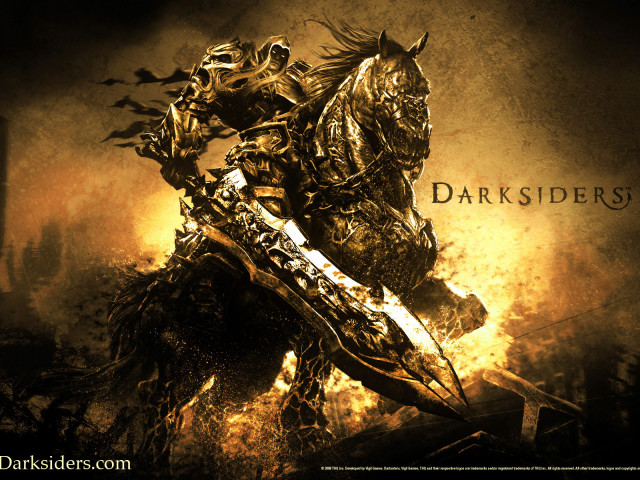 Darksiders Video Game 壁紙画像