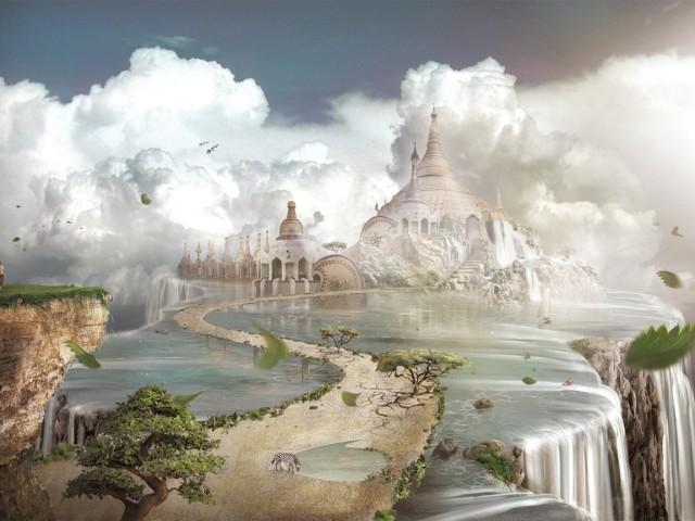 Fantasy Castle 壁紙画像