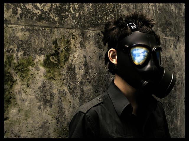Gas Mask 壁紙画像