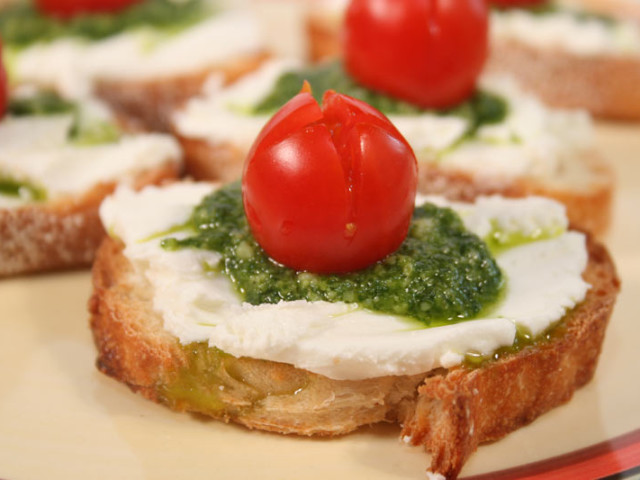 Goat Cheese Appetizer 壁紙画像
