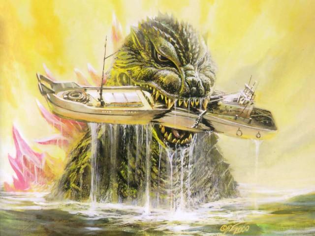 Godzilla 壁紙画像