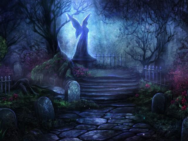 Graveyard Fantasy 壁紙画像