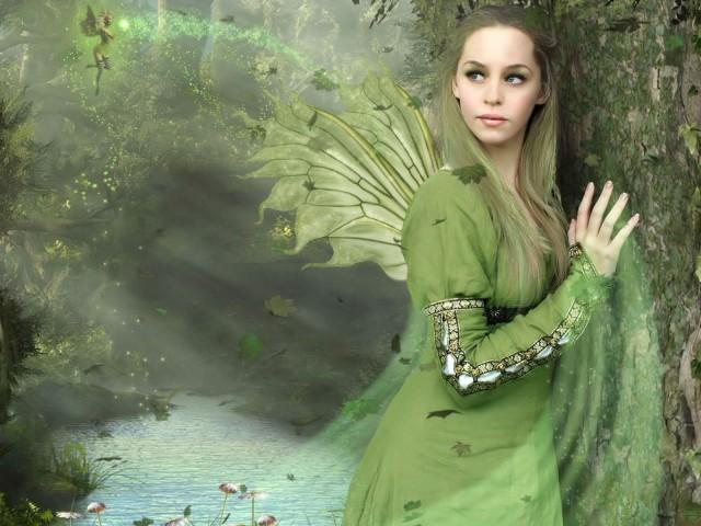 Green Fairy 壁紙画像