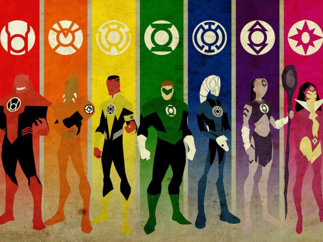 Green Lantern 壁紙画像